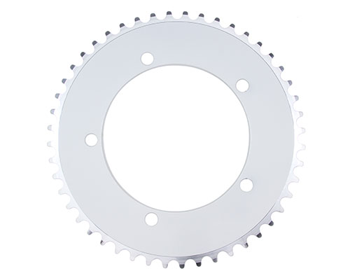 Alloy Chainring 1/2 x 1/8 48t White.