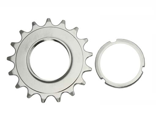 17T Track Fix Cog 3/32 Chrome Bicycle.
