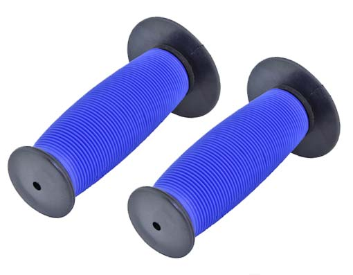 Bicycle Mushroom Grips Black/Blue