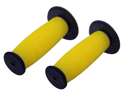 Bicycle Mushroom Grips Black/yellow.