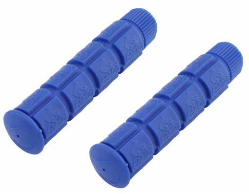 Bicycle Track Grips Blue.