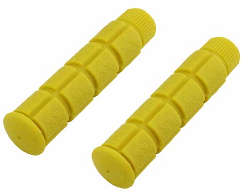 Bicycle Track Grips yellow.
