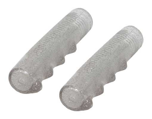 Lowrider Bicycle  Grips Sparkle/Clear.