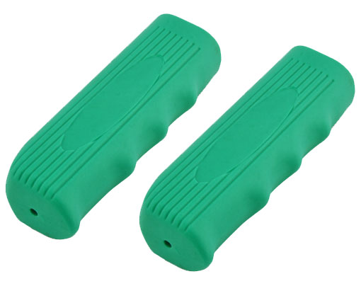 Lowrider Bicycle  Custom Grips Kraton Rubber Green.