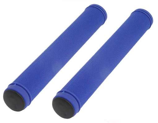 Track Bike Grips Velo 175mm Kraton Rubber Blue.