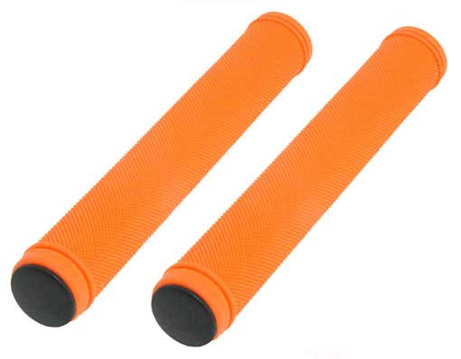 Track  Grips Velo 175mm Kraton Rubber Orange.