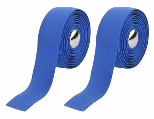 EVA Cork Handlebar Bicycle Tape Blue.
