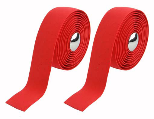 EVA Cork Handlebar Bicycle Tape Red.