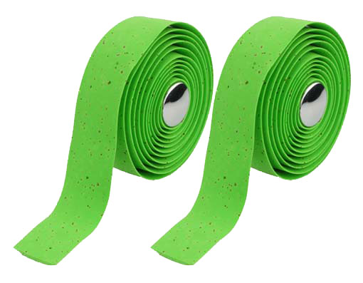 EVA Cork Handlebar Bicycle Tape Green.