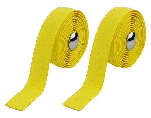 EVA Cork Handlebar Bicycle Tape Yellow.