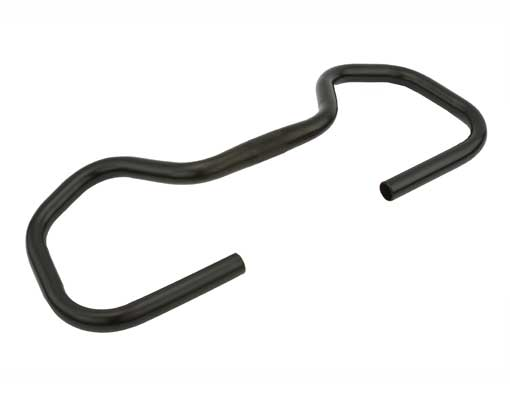 Steel Handlebar Bicycle 694 25.4mm Black.