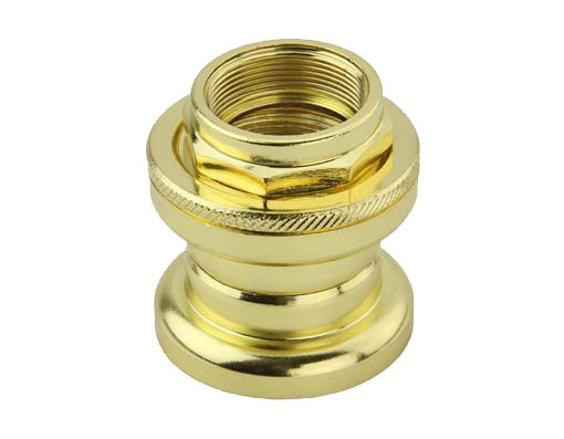 Bike Threaded Steel Headset 21.1x32.5x27mm Gold. 173311