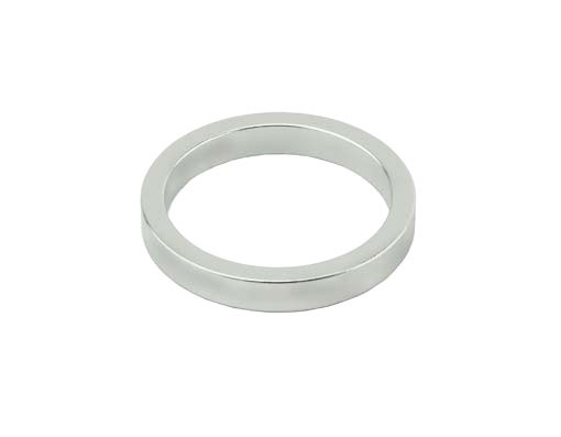 Headset Spacer 1-1/8 5mm Silver.