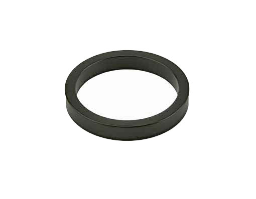 Headset Spacer Bicycle 1-1/8 5mm Black.
