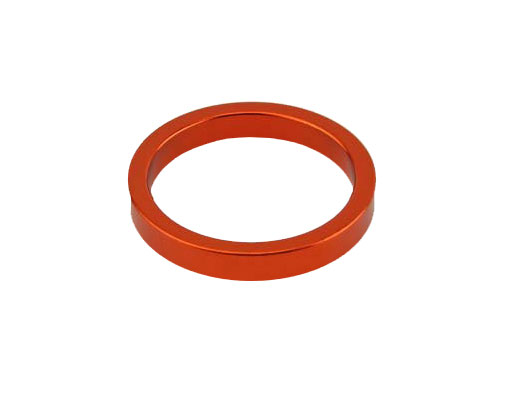Headset Spacer Bicycle 1-1/8 5mm Orange