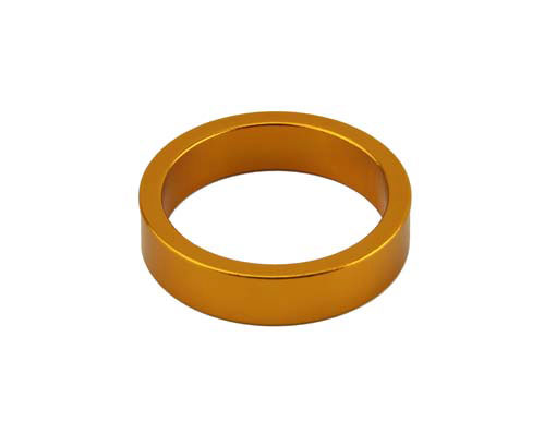 Headset Spacer Bicycle 1-1/8 8mm Gold.