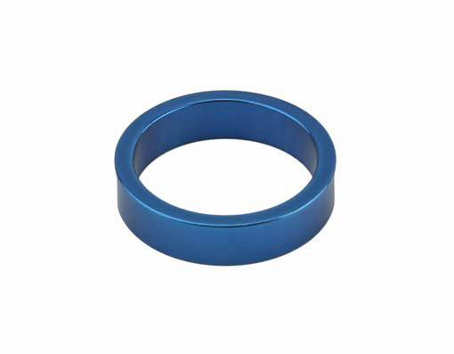 Headset Spacer Bicycle 1-1/8 8mm Blue.