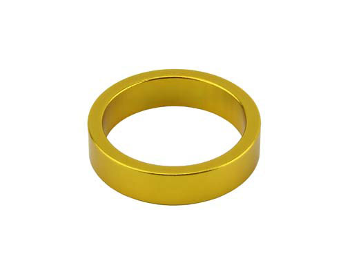 Headset Spacer Bicycle 1-1/8 8mm Yellow.