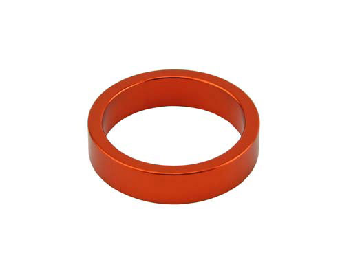 Headset Spacer Bicycle 1-1/8 8mm Orange.