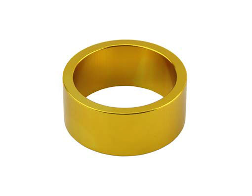 Headset Spacer Bicycle 1-1/8 15mm Gold.