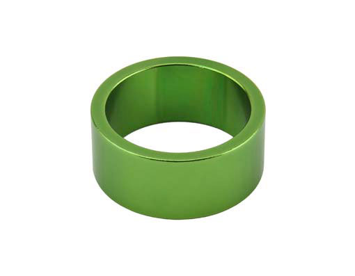 Headset Spacer Bicycle 1-1/8 15mm Green
