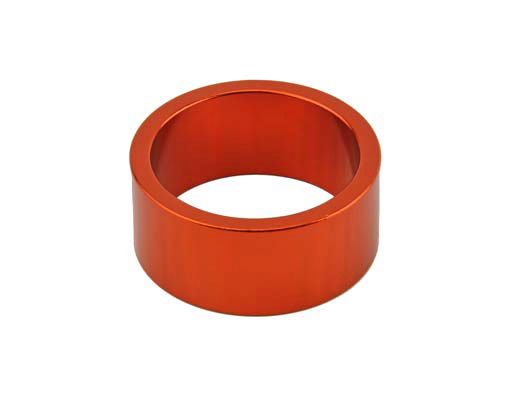 Headset Spacer Bicycle 1-1/8 15mm Orange.