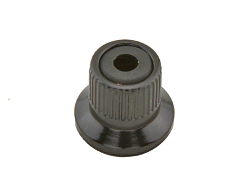 Alloy Quick Release Skewer Nut 5mm Black.