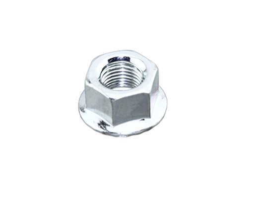 Bicycle Nut 3/8 x 26t Front/Rear Chrome.