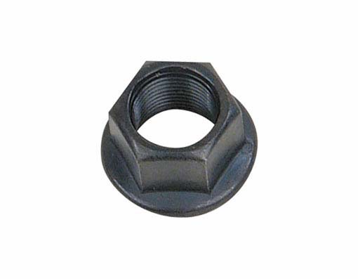 Flange Bicycle Nut 14mm Black.