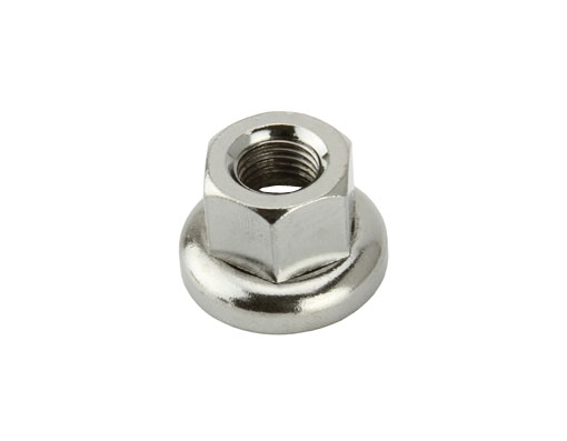 700c Hub Bicycle Nut Front m9 Chrome.