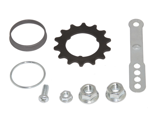 Coaster Hub Kits 14t Black.