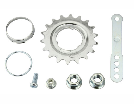 Coaster Hub Kits Chrome Bicycle.