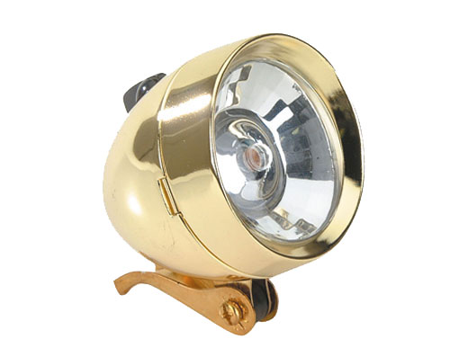Bullet Bicycle Light 777 1/Bulb Gold.