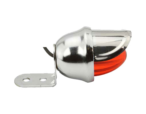 BICYCLE DUMMY BEE LIGHT WITH VISOR WIRE-UP ORANGE//AMBER LOWRIDER CYCLING NEW