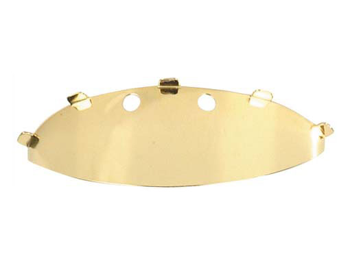 Bullet Bicycle Light Visor Gold.