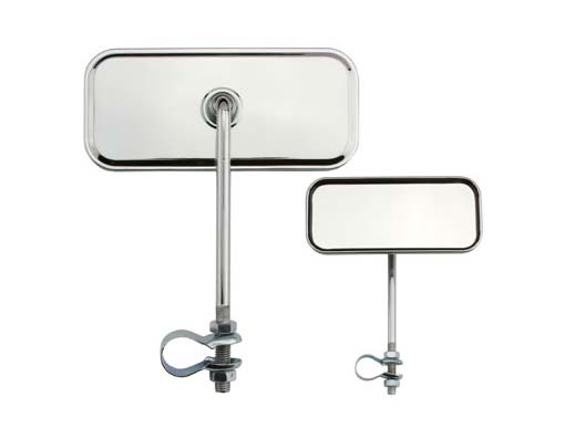 Rectangle Mirror Bicycle All Chrome.
