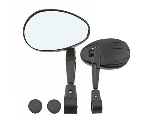 Bike 3D Mirror Handlbar Mount 2200SC Black. 193657
