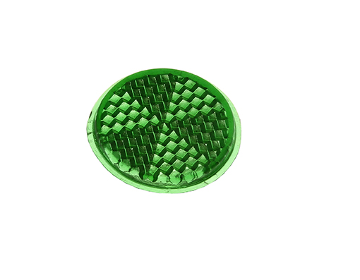 Bike Mirror Reflector 27mm Green. 193973