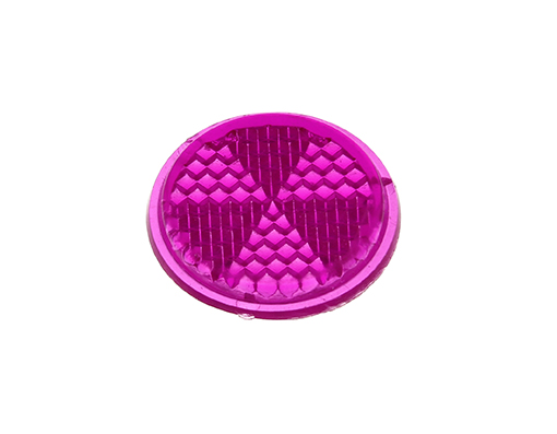 Bike Mirror Reflector 27mm Purple. 193974