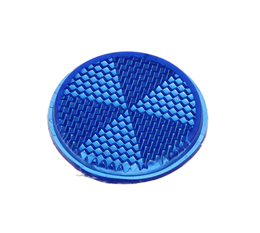 Bike Mirror Reflector 42mm Blue. 193979