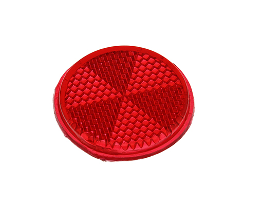 Bike Mirror Reflector 42mm Red. 193980