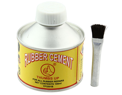 Bike Repair Cement Can W/Brush 100ml YP3201B. 199755