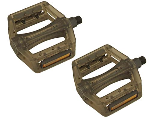 Translucent Resin Body 745p PC Pedals 9/16