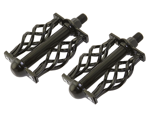 bike Twisted Pedals W/Cage Classic C-514 1/2 Black