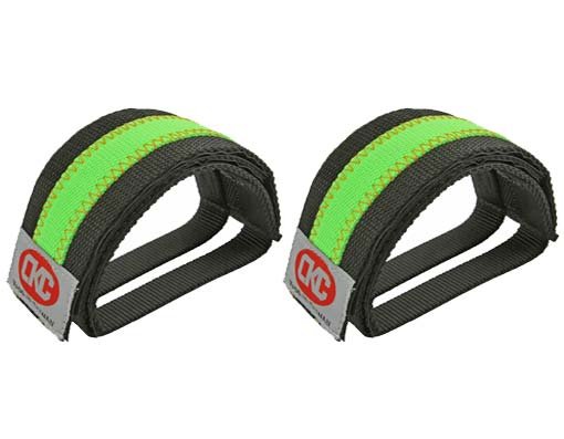 Double Nulon Bicycle  Black Green/Straps.