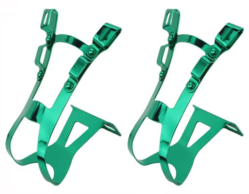 Bicycle Toe Clip Green.