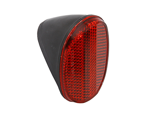 Bike Oval Red Rear Reflector. 210117