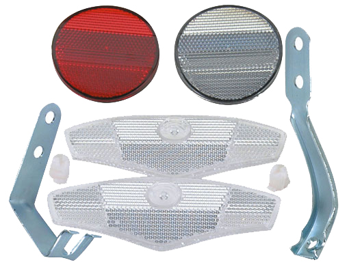 Reflector Bicycle Set 4 Piece.