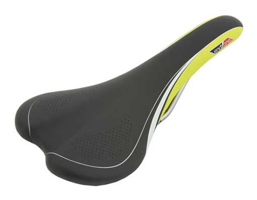 Saddle Bicycle 1205 Endzone Black/Green.