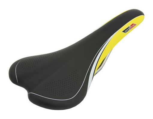 Saddle Bicycle 1205 Endzone Black/Yellow.